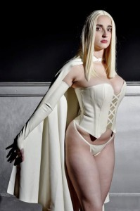 Latex Cosplay Emma Frost 2