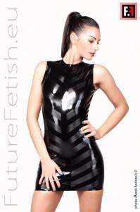 STRIPED DRESS 0168