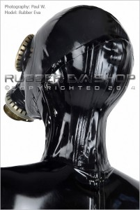 Rubber Russian Gas Mask Neck Corset 2