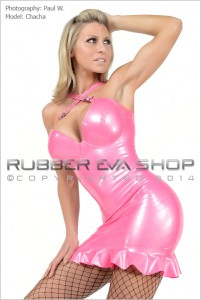 Underwired Rubber Cocktail Dress 1