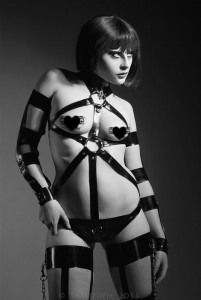 Fetasia Latex fetish Kink Latex Harness