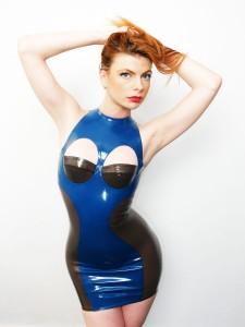 Tentation Latex Dress