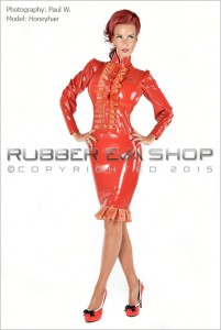 Laced Latex Frilly Mistress Uniform