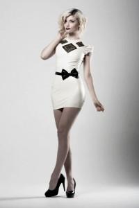 Diamond mini dress