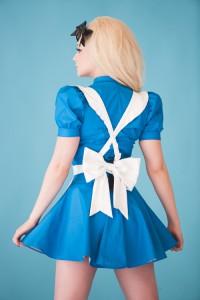 PVC Alice in Wonderland Costume 2