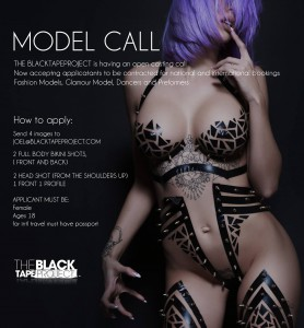 model call of the black tape project