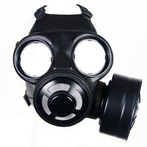 メガネ型レンズの例(C-3ガスマスク)