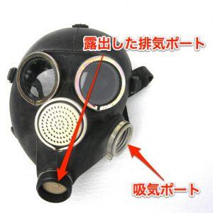 ロシアGP-7ガスマスクのポート