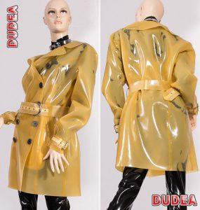 Latex Trenchcoat