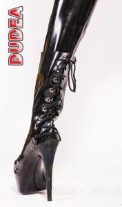 Latex Lace High Heel 1