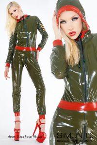 Latex Uniform Catsuit