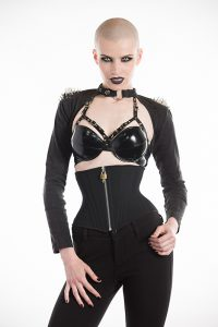 PVC Harness buckle Bra 1