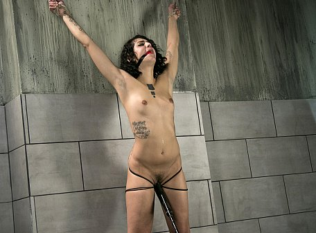 Standing Bondage Orgasms
