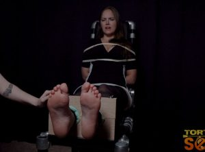 Rachel Adams' Feet in Stocks Receive Full Menu of Torments