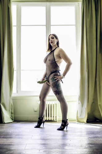 Dominatrix with Strap On