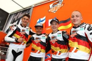 Team Germany: Marco, Mate, Jan-Ole, Yannik