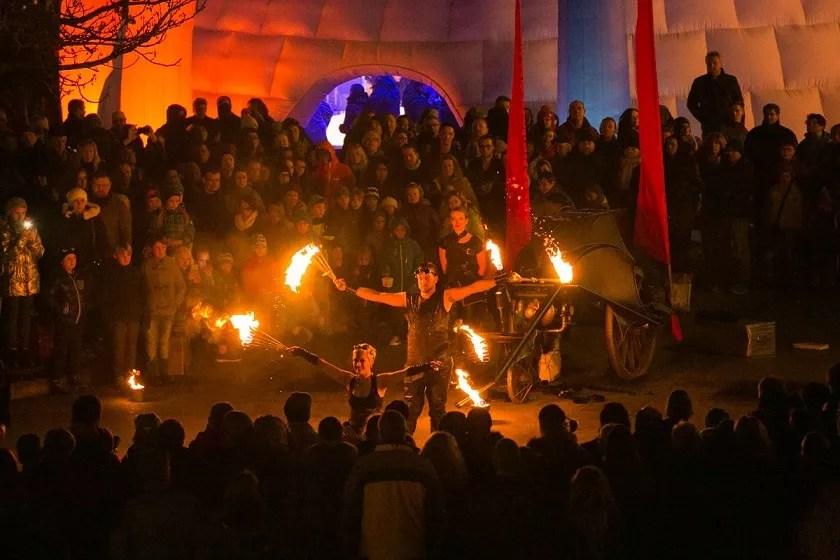 Feuer Walk Act Heidelberg