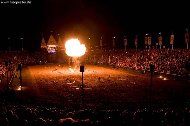 Feuershow Kaltenberger Gauklernacht