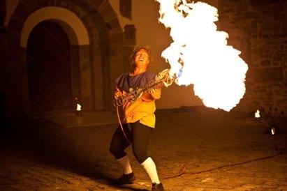 Mittelalterhochzeit Feuershow