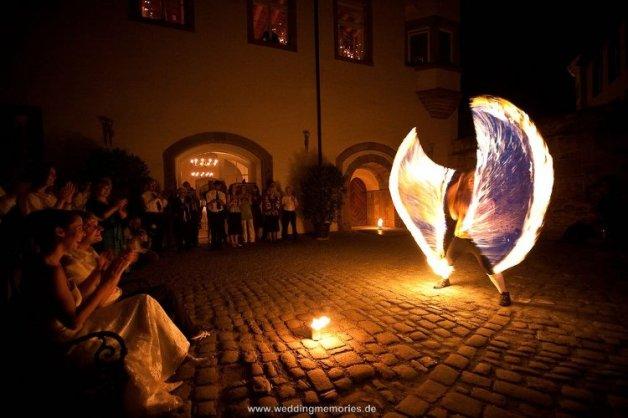 Hochzeitsfeuershow