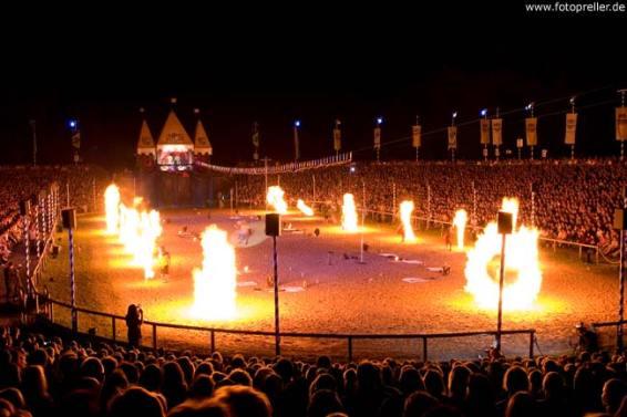 Pyroshow Ritterspiele