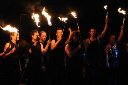 Feuershow Sam Team