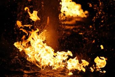 Brennendes Wasser Feuerdeko Paderborn