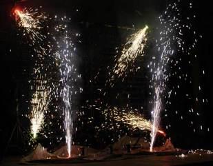Indoor Feuerwerk
