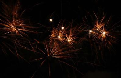 Hochzeits-Feuerwerk