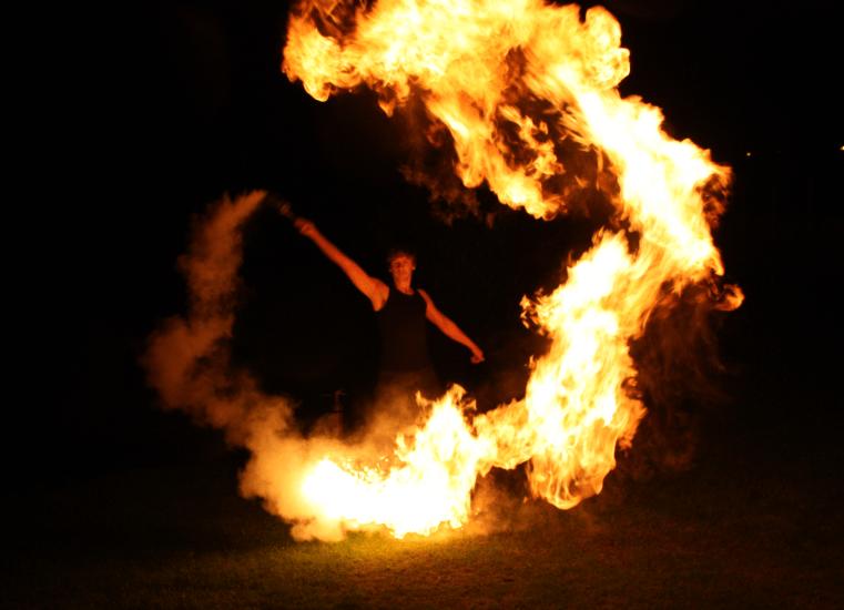 SAM&more Team Feuershow Mattias
