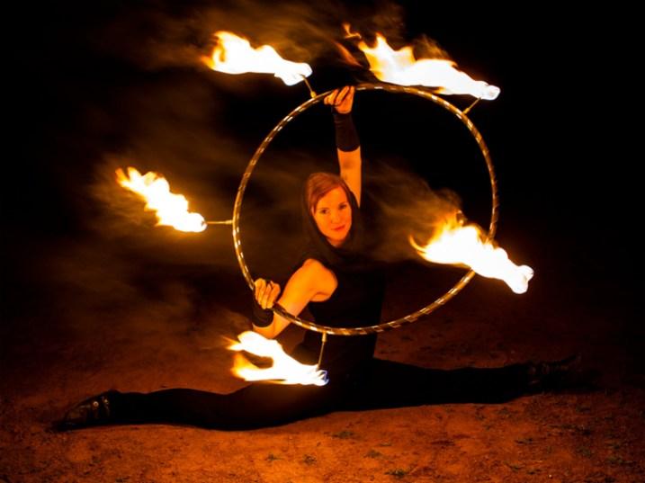 Firehoop Anne
