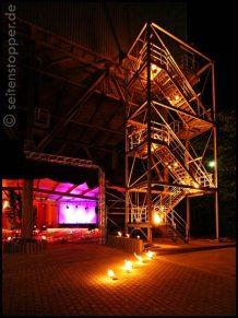 Feuerdekoration Feuershow