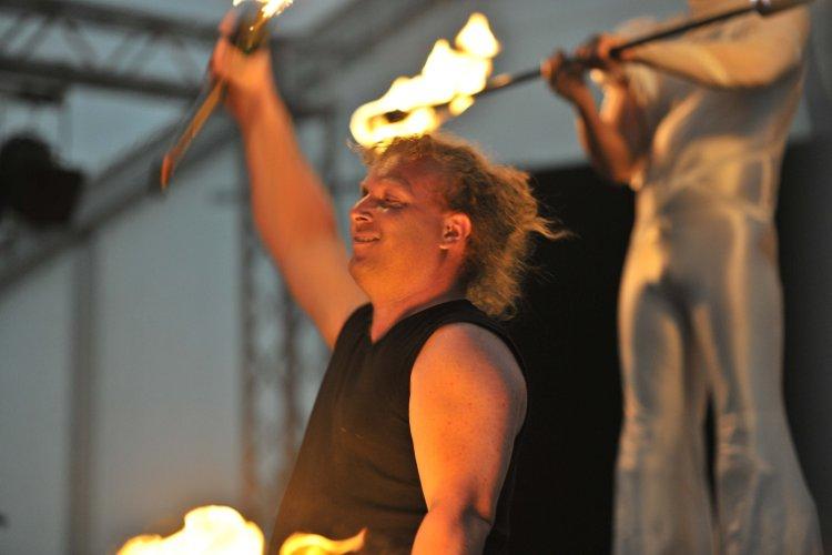 Feuershow Stuttgart