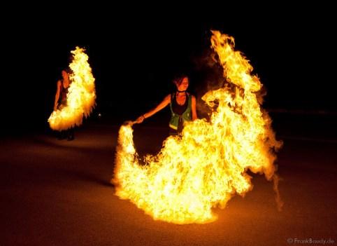 Flammeneffekt Natalie Feuershow.de
