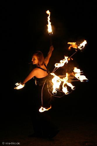 Feuershow Bochum