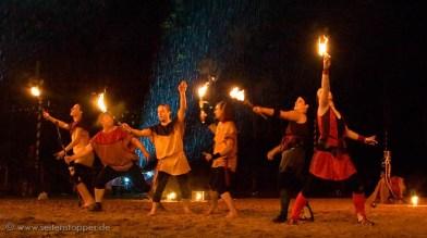 Feuer Gaukelshow