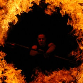 Flammenshow Ulm
