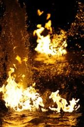 Brennendes Wasser Essen