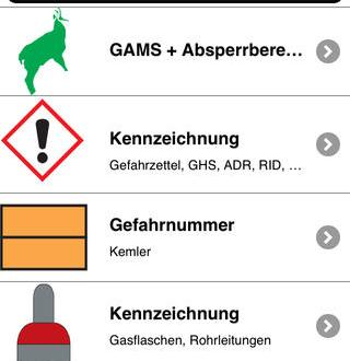 Gefahrgut App