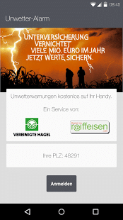 Unwetteralarm – vereinigte-hagel.net