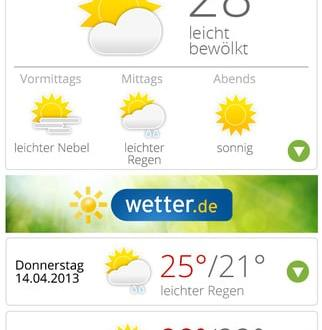 wetter.de App