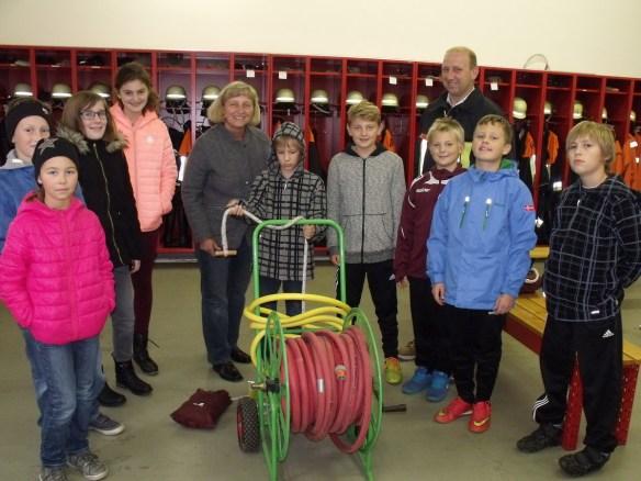 FFW-Abschlußübung Kindergruppe
