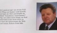 Trauer um LM Rupert Weber