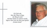 31.10.2019, Trauer um HFM Karl Winkler