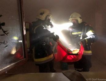 16.10.2021, Atemschutzbereichsübung in Großreichenbach