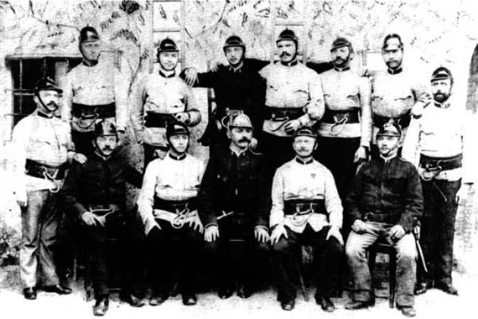 Gruppenbild und Gründungsfoto aus dem Jahr 1891