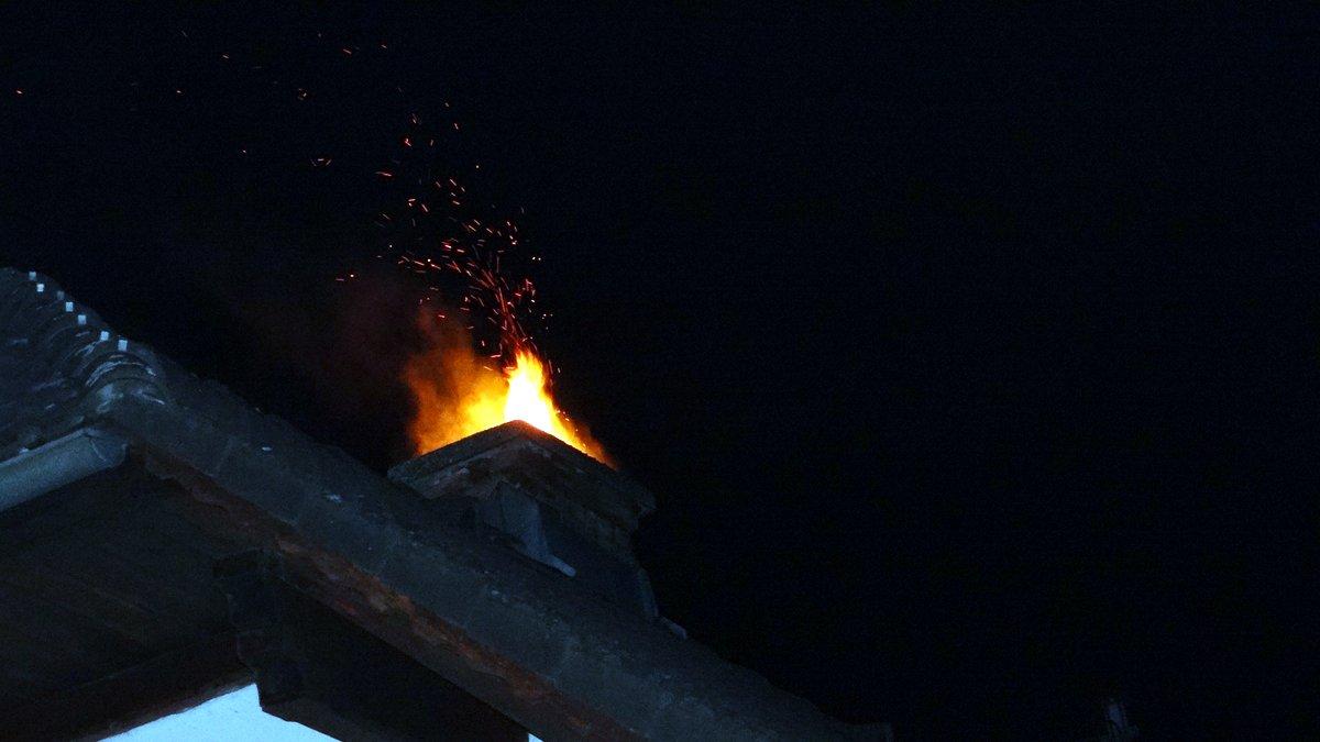 Kaminbrand in Lavamünd