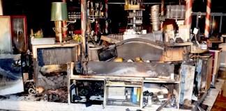 Greenvieh Obermieming - Vermutete Brandursache war ein technischer Defekt, Foto: FF Telfs