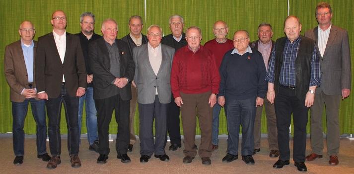 Willi Meier und Friedrich Kurz gehören seit 65 Jahren zu den Oberbieler Brandschützern