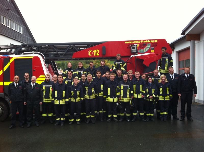 24 neue Feuerwehrangehörige sorgen für die Sicherheit der Bürger
